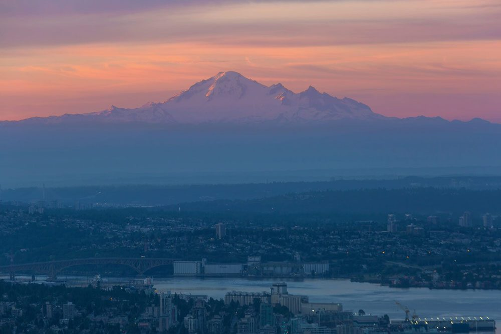 Mount Baker view from Cypress Mountain